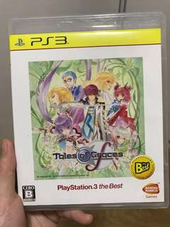 PS3 game Tales of Grace F