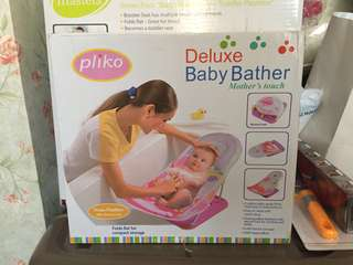 Pliko baby bather bangku mandi bayi