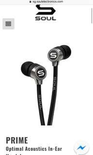Soul Mini Earphones