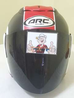 1706*** ARC AR1 TIARA MATT RED v DARK Black Visor Helmet For Sale 😁😁Thanks To All My Buyer Support 🐇🐇 Yamaha, Honda, Suzuki