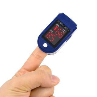 Blue Pulse Oximeter Hear Rate Monitor
