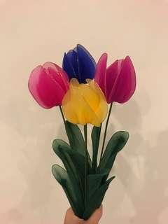 Handmade Flowers (Tulips)