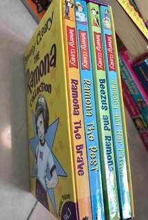 小朋友英文書Ramona box set 4 no.