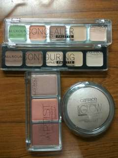 Never been used Catrice Cosmetics set