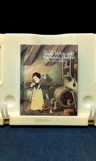 Snow white art book art reference book disney book