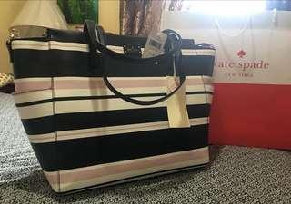 Brand New Kate Spade Diaper/Weekender Sling Bag