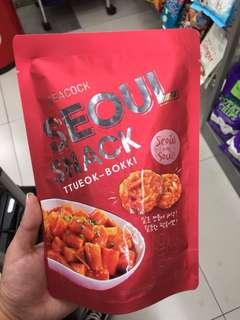 韓國年糕脆脆零食