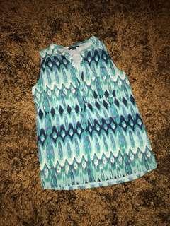 New! Blus kemeja H&M size 34