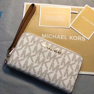 MK02 Michael Kors Smartphone Wristlet 電話手提包 Wallet 銀包