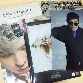 🚚 BIGBANG 官方商品 GD組合包