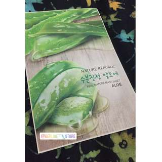 Nature Republic ALOE VERA Mask Sheet 25ml