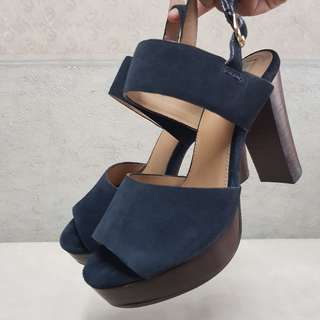 Call it Spring Suede Chunky Heels