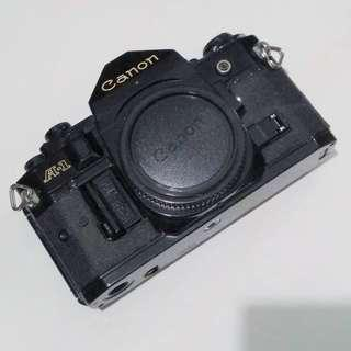 Canon A1 and Motordrive For Sale