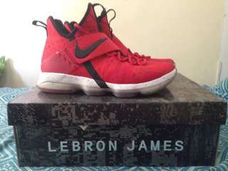 "LeBron 14 ""Red Brick Road"" US Size 10"