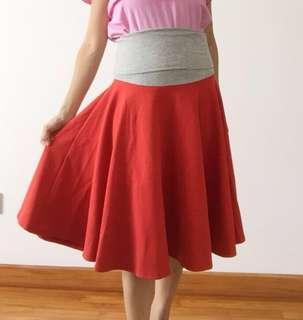 Maternity Skirt Free Size