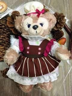 💝出清回饋價~二手私物❤️海洋迪士尼 廚娘 雪莉玫 站姿玩偶吊飾🈴️售