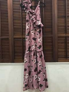 Zoo Floral Long Gown