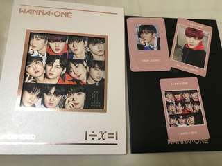 Wanna One<1➗x=1>專輯