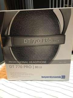 Beyerdynamic DT-770 pro headphones