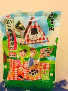 台灣✈️元本山DIY三角飯糰海苔