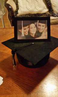 Graduation cap photo box