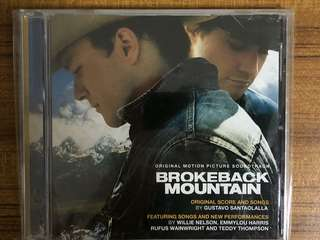 OST Brokeback Mountain - Gustavo Santaolalla, Willie Nelson, Emmylou Harris, Linda Ronstadt etc Used CD Music