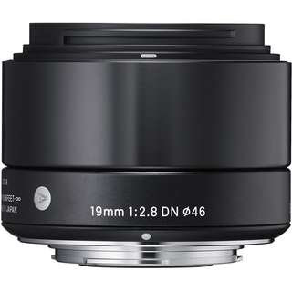 Sigma 19mm f2.8 Art lens for Sony E mount camera