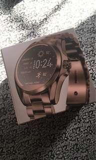 Brand New Michael Kors Dark Rose Gold Sable Touchscreen Smartwatch