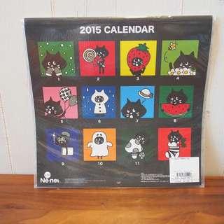 Ne-net貓貓月曆畫2015