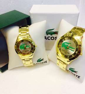 Lacoste watch pair
