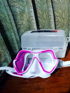 Scuba diving mask Mares