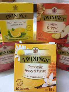 🚚 🍵Twinings-camomile, honey& vanilla🍵茶包