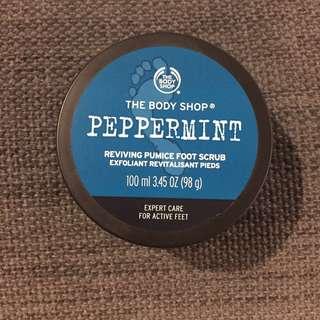 Body Shop Peppermint Foot Scrub