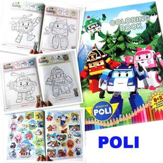 Colouring Books/Colouring book/Colouring sticker book/children favor/goodie bag/birthday/children day