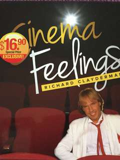 Richard Clayderman - Cinema Feelings (Price reduced)