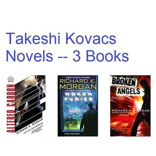 ebook:  Takeshi Kovacs Novels (3 Book Series)