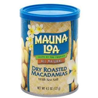 夏威夷果仁鹽焗味mauna loa
