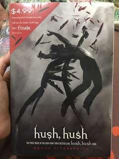 English Novel Book(Brand New)-HUSH HUSH by Becca Fitzpatrick