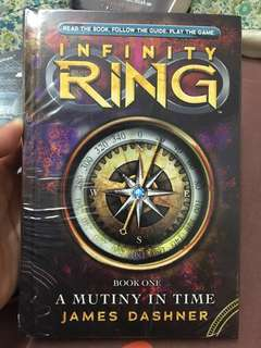 English Novel Book (brand new) : INFINITY RING-Book One: A Mutiny in Time by James Dashner