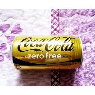 日本Coca-Cola Zero Free 可樂罐一個