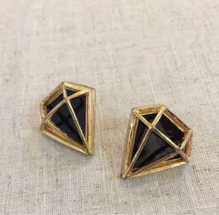 Diamond Shape Earrings