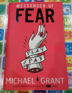 Messager of Fear by Michael Grant