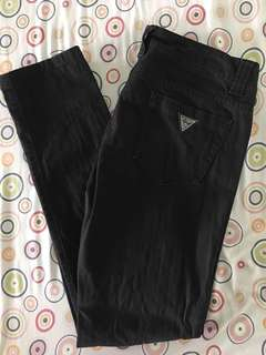 Guess Daredevil skinny jeans black