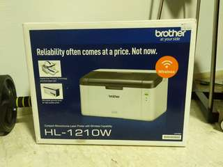 Brother HL1210W Wireless Monochrome Laser Printer