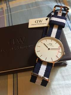 全新真品 DW Daniel Wellington Classic Glasgow 36mm Rose Gold 玫瑰金