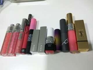 lipstick clearance dior kvd ysl