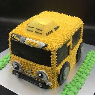 黃巴士蛋糕 三磅