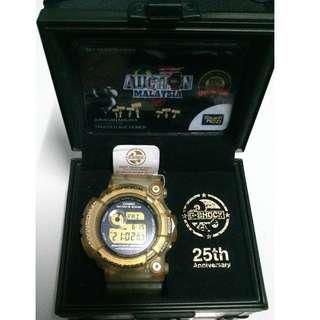 Casio G-Shock GW225 Frogman 25th Anniversary (Glorious Gold)