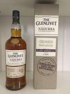 The Glenlivet Nadurra Oloroso Matured Single Malt Scotch Whisky 蘇格蘭 格蘭利威Nadurra原酒Oloroso Matured單一麥芽威士忌