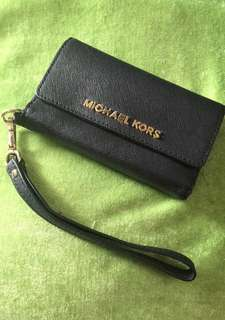 Preloved Michael Kors Saffiano Leather Phone Case
